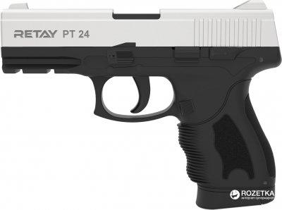 Стартовий пістолет Retay PT 24 9 мм Chrome/Black (11950338)