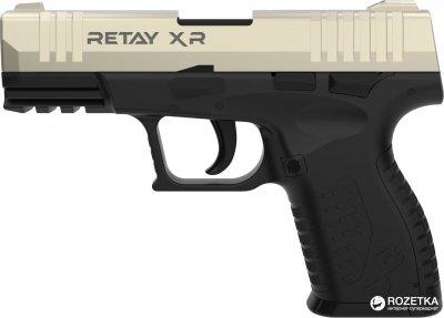 Стартовий пістолет Retay XR 9 мм Satin/Black (11950344)