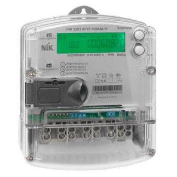 Лічильник електроенергії трифазний багатотарифний електронний НІК-Електроніка НІК 2303 АР6Т.1000.М.11 3х220/380В (5-80)А (7931)