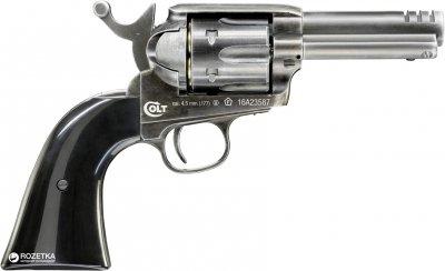 Пневматический пистолет Umarex Colt SAA Custom Shop Edition Black (5.8341)