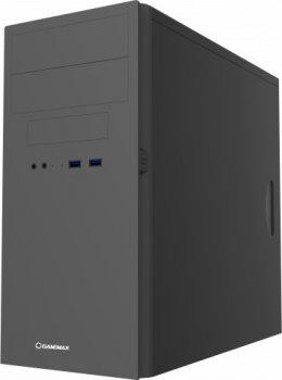 Корпус GameMax MT-303-NP-2U3 Black без БЖ