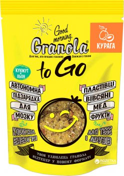 Гранола Good morning Granola to Go c курагой 140 г (4820192180092)