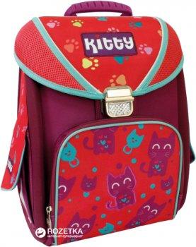 """Ранец школьный каркасный-трансформер Cool For School 711 14"""" Kitty (CF85655)"""