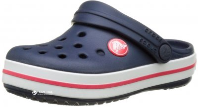 Сабо Crocs Kids' Jibbitz Crocband Clog 204537-485 Navy/Red