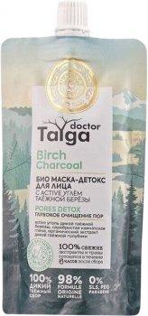Маска-детокс для лица Natura Siberica Doctor Taiga Глубокое очищение пор 100 мл (4680038358364)