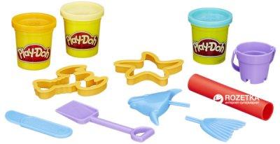 Набор пластилина Hasbro Play-Doh ведерко Beach (23414_23242)