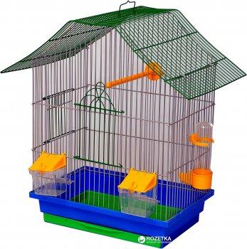 Клетка для птиц Лорі Шанхай 40 х 33 х 23 см Синяя (4820033202235)