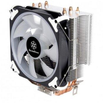 Кулер для процессора Silver Stone Stone ARGON (SST-AR12-RGB)
