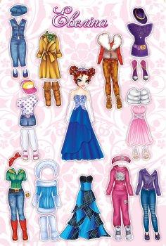 Настольная игра Bombat Game Одень куклу: Эвелина (4820172800125)