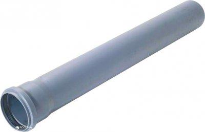 Труба ФОРТ-ПЛАСТ для внутрішньої каналізації з розтрубом ПВХ 2.2 мм 110х2000 мм (4864kmd)