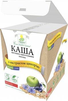 Каша вівсяна Терра миттєвого приготування з яблуком, сливою й екстрактом цикорію 456 г (шоу-бокс, 12 пакетиків по 38 г) (4820015734594)