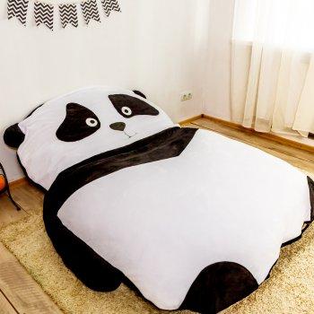 Дитяче безкаркасне ліжечко Lavibo Панда М 180х130 см