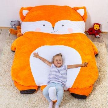 Дитяче безкаркасне ліжечко Lavibo Лисичка S 140х90 см
