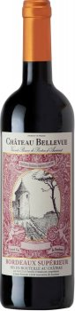 Вино Chateau Bellevue Rouge красное сухое 0.75 л 13% (3760144540240_3760144540950)