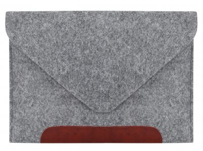 "Чохол для ноутбука Gmakin для MacBook Pro 13"" Grey/Brown (GM10-13New)"