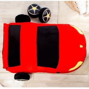 Дитяче безкаркасне ліжечко Lavibo Машинка S 140х90 см