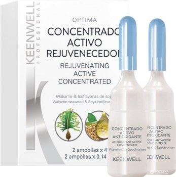 Активная омолаживающая сыворотка Keenwell Biological Concentrated для всех типов кожи 2 х 4 мл (8435002120425)