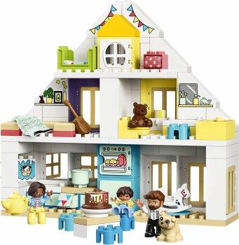 Конструктор LEGO DUPLO Town Модульный игрушечный дом 129 деталей (10929)