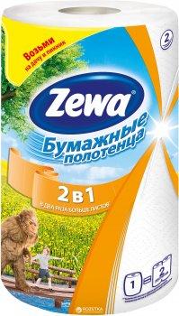 Паперові рушники Zewa 2 в 1 рулону (7322540827743)