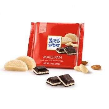 Черный шоколад марципан Ritter Sport Marzipan 100г (00-00000117)