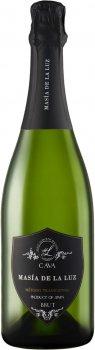 Вино игристое Cava Masia De La Luz Brut 0.75 л 11.5% (8426998281757)