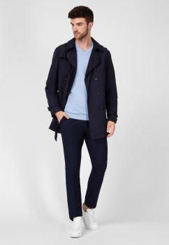 Пальто NAVI NV91-7X-001-G Темно-синее