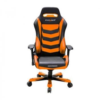 Крісло для геймерів DXRAcer Iron OH/IS166/NO Black/Orange
