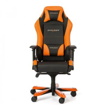 Крісло для геймерів DXRAcer Iron OH/IS11/NO Black/Orange