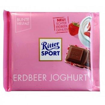 Шоколад Ritter Sport Erdbeer Joghurt, 100 г (Германия)
