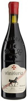 Вино Winiveria Mukuzani красное сухое 0.75 л 12.5% (4860100870097)