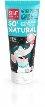 Детская зубная паста защита от бактерий и кариеса Splat Junior Bubble Gum 55 мл (4603014007711)