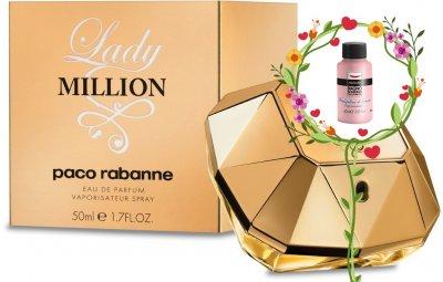 Жіноча парфумерія PACO RABANNE LADY MILLION 50МЛ (3349668508488)