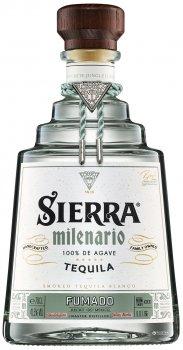 Текила Sierra Milenario Fumado 0.7 л 41.5% (4062400100403)