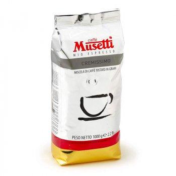 Кава в зернах Musetti Cremissimo 1 кг