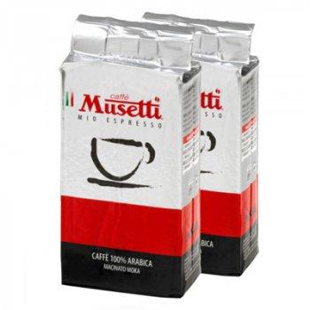 Кава мелена Musetti Arabica 100% 250 г