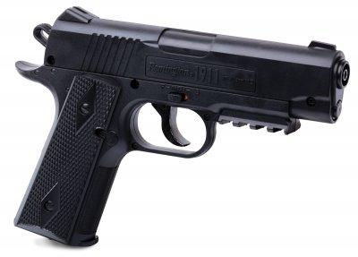 """Пистолет пневматический Crosman """"1911BB """" кал.4,5 Crosman Черный"""