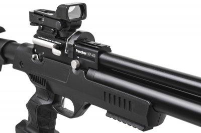 Пистолет пневматический Kral NP-03 PCP кал.4,5 мм Kral Arms Черный