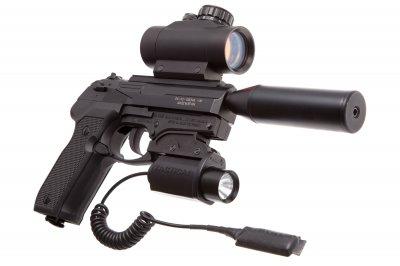 Пистолет пневматический Gamo PT-80 Tactical Gamo Черный
