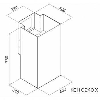 Витяжка кухонна Kernau KCH 0240 X