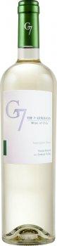 Вино G7 Sauvignon Blanc белое сухое 0.75 л 12.5% (7804310546240)