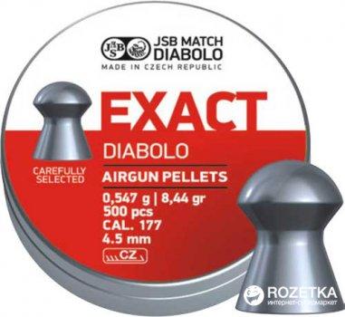 Свинцовые пули JSB Diabolo Exact 0.547 г 500 шт (14530517)