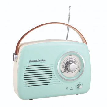 Радиоприемник Vintage Cuisine 7911236468 Бирюзовый