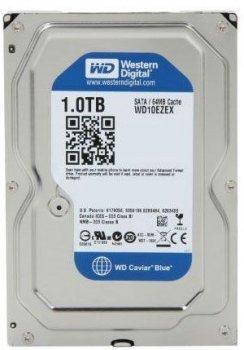 Жорстку диск HDD 1TB WD Caviar Blue SATA3 64MB 7200rpm (WD10EZEX)