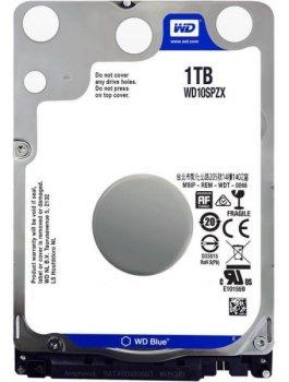 "Жорстку диск HDD Mobile 2,5"" 1TB WD 5400rpm 128MB Blue SATA III 7mm (WD10SPZX)"