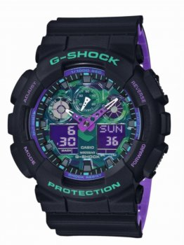 Годинник Casio GA-100BL-1AER G-Shock 53mm 20ATM