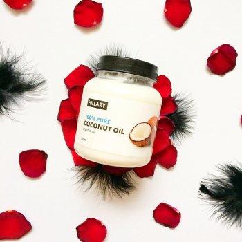Кокосовое масло рафинированное Hillary Coconut Oil New line 500мл (1-131382) Белый