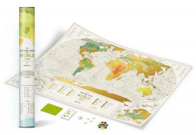 Скретч-карта світу 1DEA.me Travel Map Geography World (GEOW)