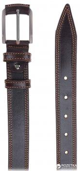 Мужской ремень кожаный Sergio Torri 3-0025 115-125 см Коричневый (2000000008219)