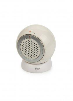 Міні радіоприймач I-tech 6х7х4 см Білий 000008737