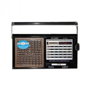 Радиоприемник с USB+SD AT-818 акустическая система